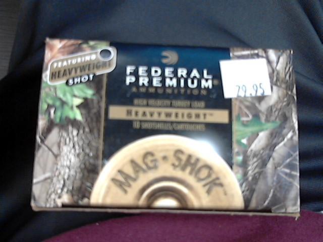 FEDERAL AMMUNITION Ammunition 12 GA HEAVYWEIGHT