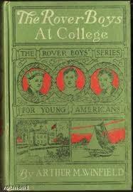 ARTHUR M WINFEILD Fiction Book THE ROVER BOYS AT COLLEGE