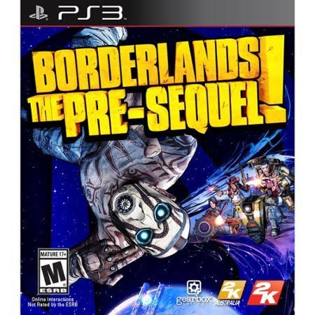SONY Sony PlayStation 3 Game PS3 BORDERLANDS THE PRESEQUEL