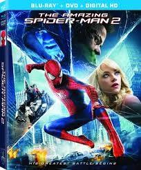BLU-RAY MOVIE Blu-Ray THE AMAZING SPIDER MAN 2