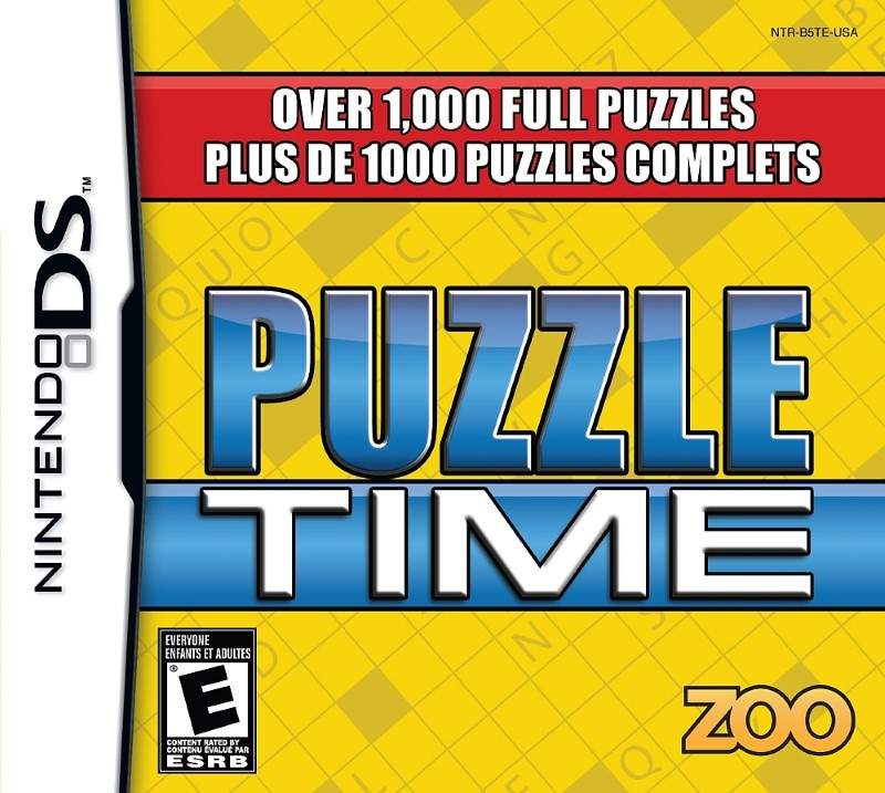 NINTENDO Nintendo DS Game PUZZLE TIME