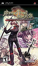 SONY Sony PSP Game SPECTRAL SOULS RESURRECTION OF THE ETHEREAL EMPIRE