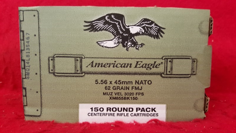 FEDERAL AMMUNITION Ammunition 5.56MM 62GR FMJ 150RD PACK