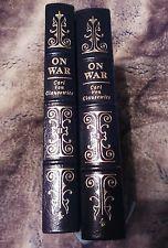 EASTON PRESS Non-Fiction Book ON WAR SET OF 2