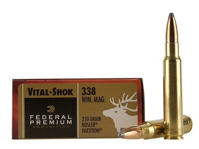 FEDERAL AMMUNITION Ammunition 338 WIN MAG