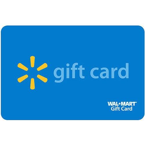 WALMART Gift Cards GIFT CARD