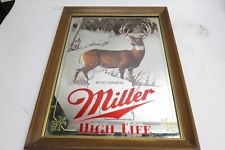 MILLER HIGH LIFE WHITE TAIL DEER MIRROR
