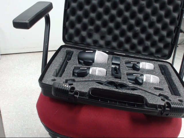 SHURE Microphone PQDMK6