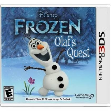 NINTENDO Nintendo 3DS Game FROZEN OLAFS QUEST