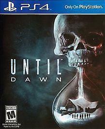 SONY Sony PlayStation 4 Game UNTIL DAWN - PS4