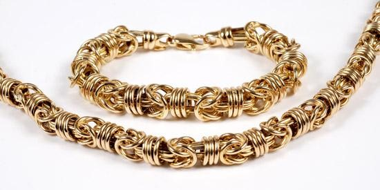 Gold Turkish Chain 10K Yellow Gold 11.1g