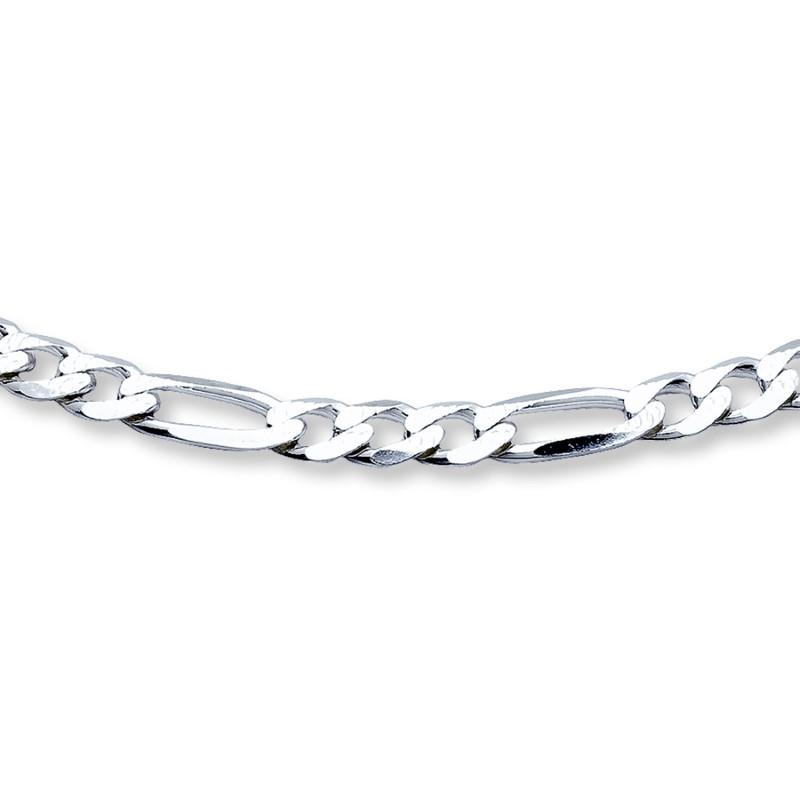 """20"""" Silver Figaro Chain 925 Silver 7.4g"""