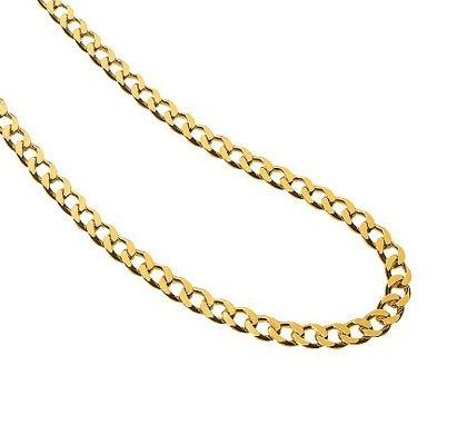 Gold Chain 14K White Gold 1.8dwt