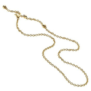 "24"" Gold Fine Chain 14K Yellow Gold 4.12g"