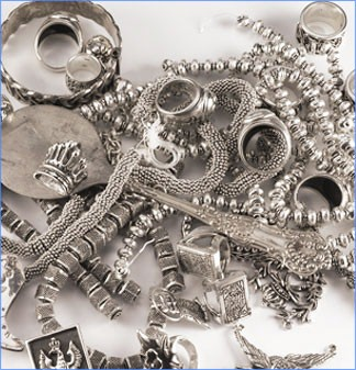 Silver-Scrap 925 Silver 73dwt