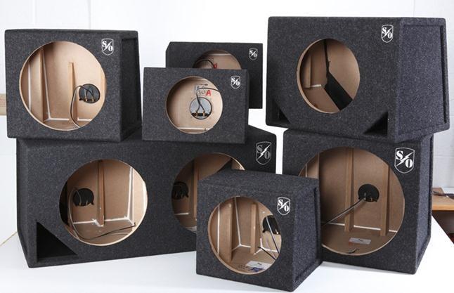 Car Speaker Cabinet