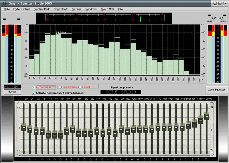 TECHNICAL PRO Equalizer SP-S6