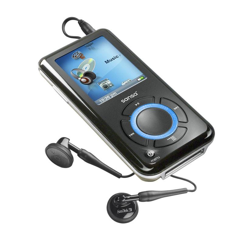 SANDISK MP3 SANSA CLIP ZIP 4GB