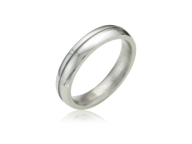 Lady's Ring Silver Titanium 2g