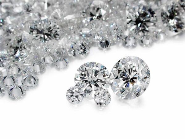 Diamond Melee 2 Diamonds .04 Carat T.W. 0.01g