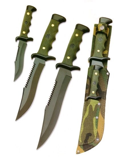 BUCK KNIVES Hunting Knife R18 &R2 KNIFE SET