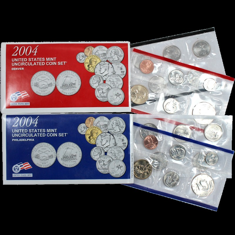 UNITED STATES Mint Set 2004 DENVER MINT EDITION STATE QUARTER COLLECTION