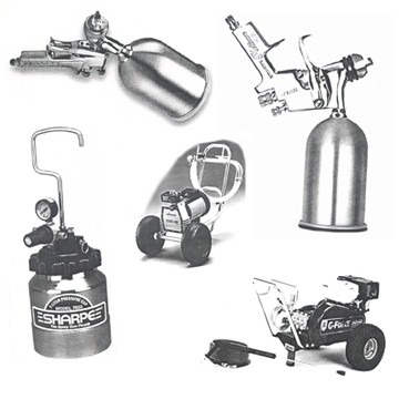 POWERMATE Spray Equipment HVLP SPRAY GUN