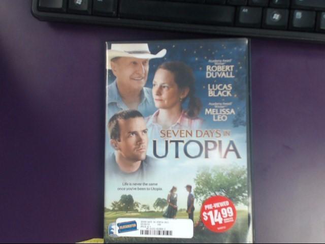 SEVEN DAYS IN UTOPIA DVD