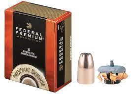 FEDERAL AMMUNITION Ammunition 40 S&W 155GR HP
