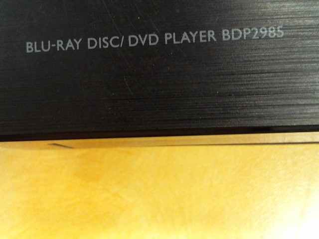 PHILIPS DVD Player BDP2985