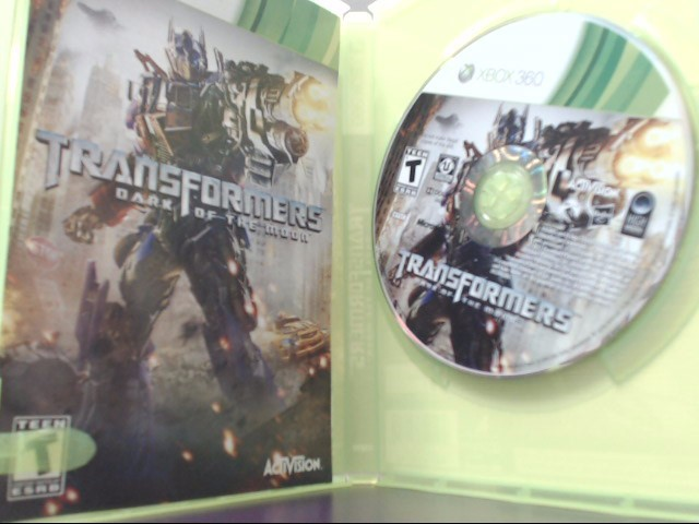 Transformers: Dark of the Moon (Microsoft Xbox 360, 2011) Tested!
