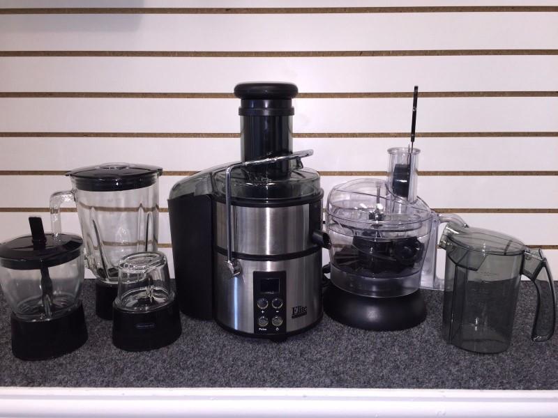 Maxi-Matic EJX-5105 Elite Platinum 5-in-1 Digital Juice Extractor (Damaged Lids)