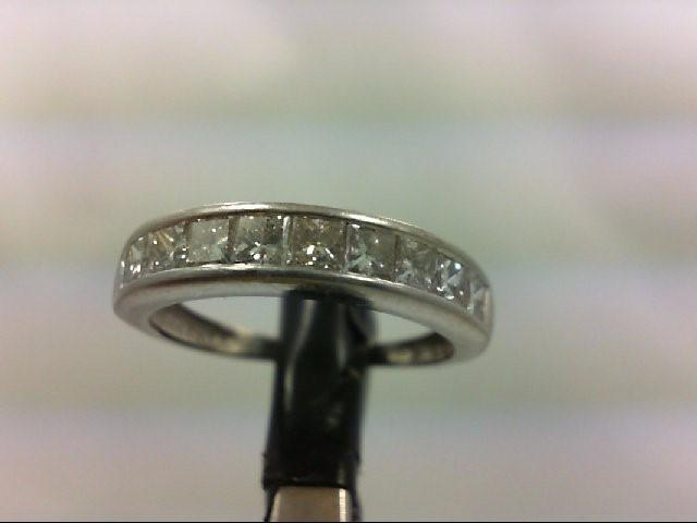 Lady's Platinum-Diamond Anniversary Ring 10 Diamonds 1.00 Carat T.W.