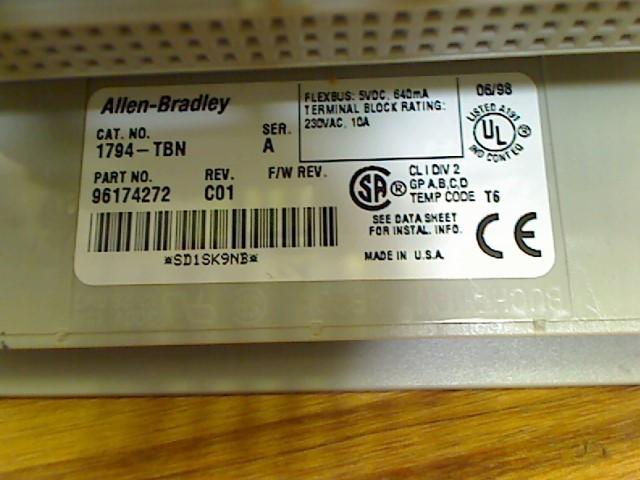 ALLEN-BRADLEY Networking & Communication 1794TBN