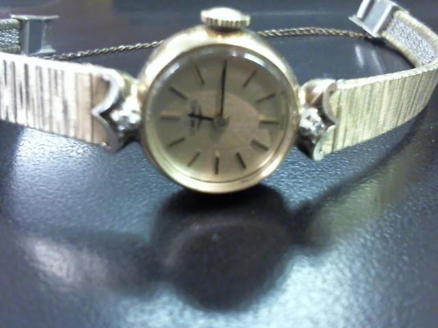 LONGINES Lady's Wristwatch 10K RGP