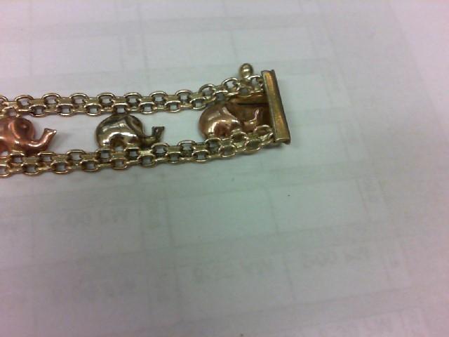 Gold Fashion Bracelet 14K Yellow Gold 10.6g