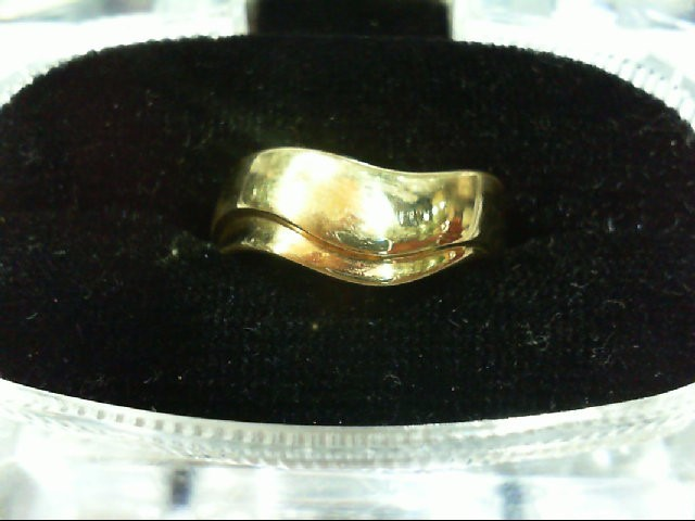 Lady's Gold Ring 14K Yellow Gold 5.6g