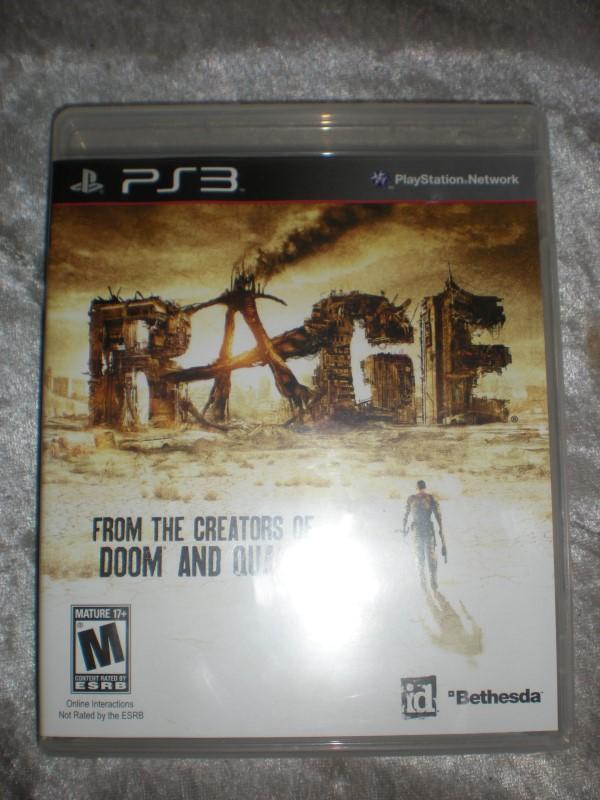 SONY Sony PlayStation 3 PS3 RAGE