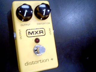 MXR Effect Equipment DISTORTION +