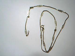 "18"" Gold Fashion Chain 14K Yellow Gold 2.9g"