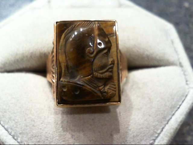Gent's Gold Ring 10K Yellow Gold 6.9g
