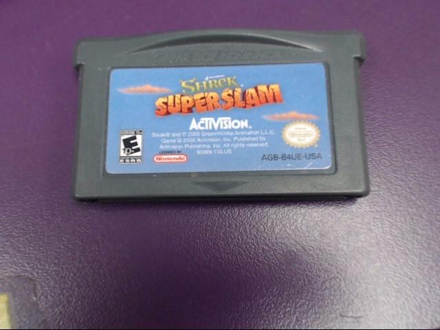 SHREK SUPER SLAM GAMEBOY ADVANCE GAME