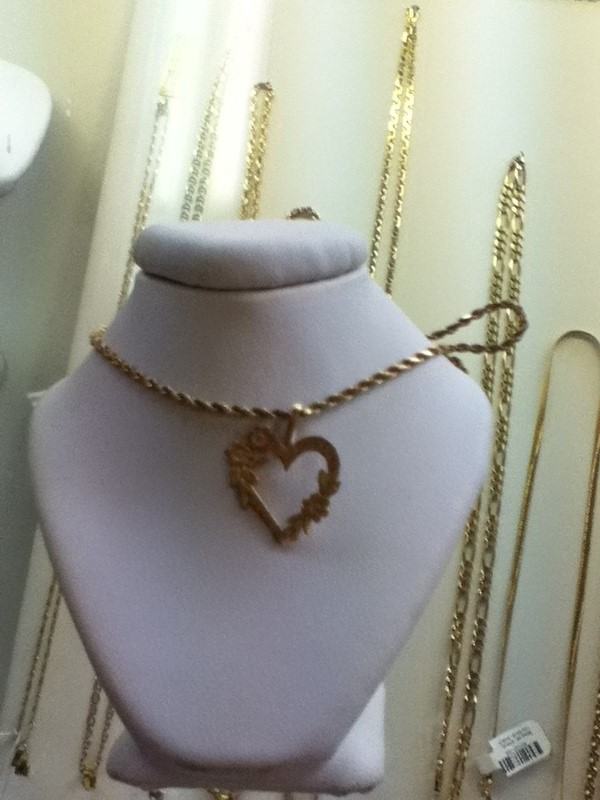 Gold Rope Chain 14K Yellow Gold 5g