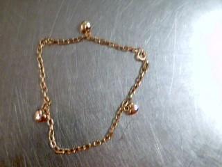 Gold Bracelet 10K Yellow Gold 1.5g