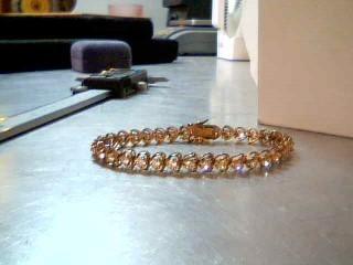 White Stone Silver-Stone Bracelet 925 Silver 10.6g