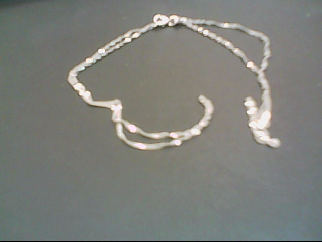 "20"" Gold Rope Chain 14K White Gold 1.8g"
