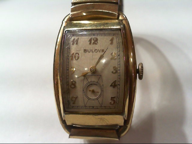 bulova gts watch g.f.  21 jewel