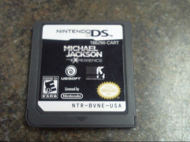 NINTENDO Nintendo DS Game MICHAEL JACKSON THE EXPERIENCE