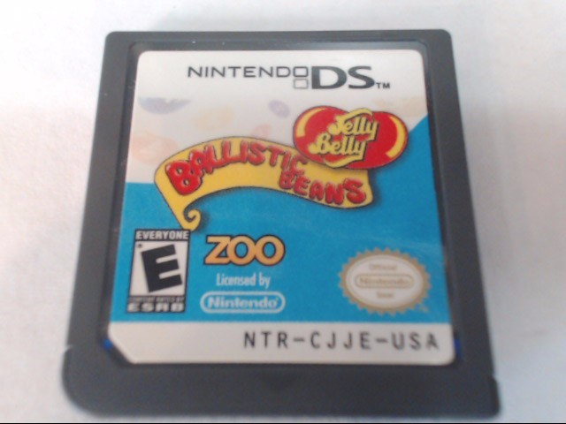 NINTENDO Nintendo DS Game JELLY BELLY: BALLISTIC BEAN - DS
