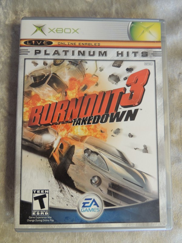 MICROSOFT XBOX GAME - BURNOUT 3